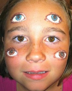 I portentosi sei occhi del genere umano.